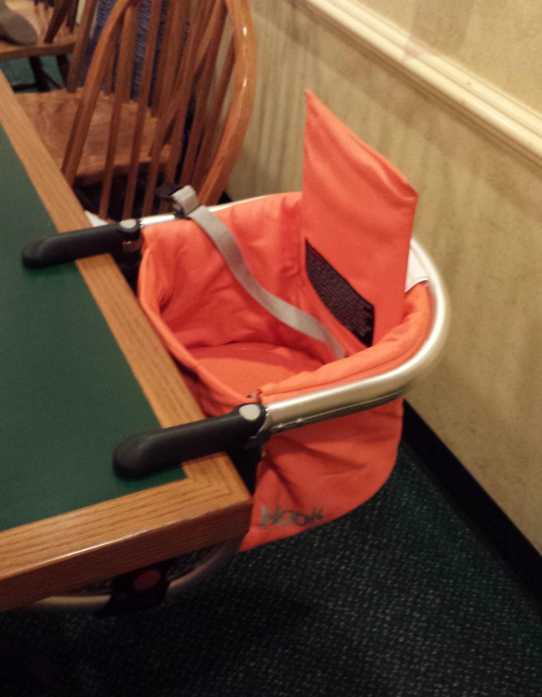 ... joovyhook2 & Joovy Hook - Leatherette Hook-On Chair - momma in flip flops