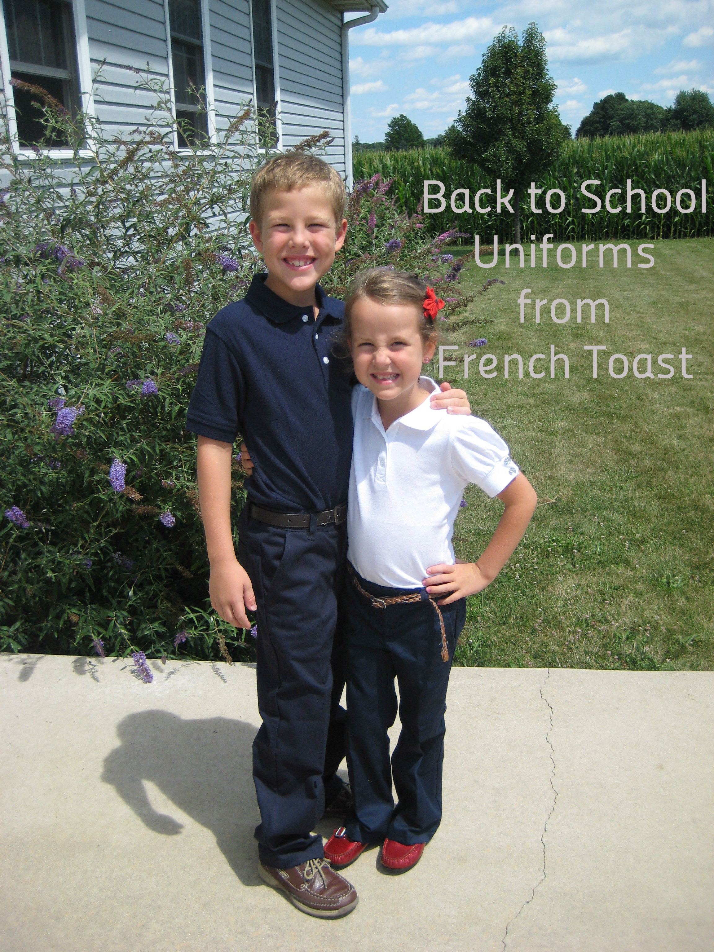 Back To School Uniforms From French Toast #Giveaway - Momma In Flip Flops