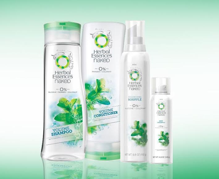Herbal Essences Naked Volume Hair Care Set Review