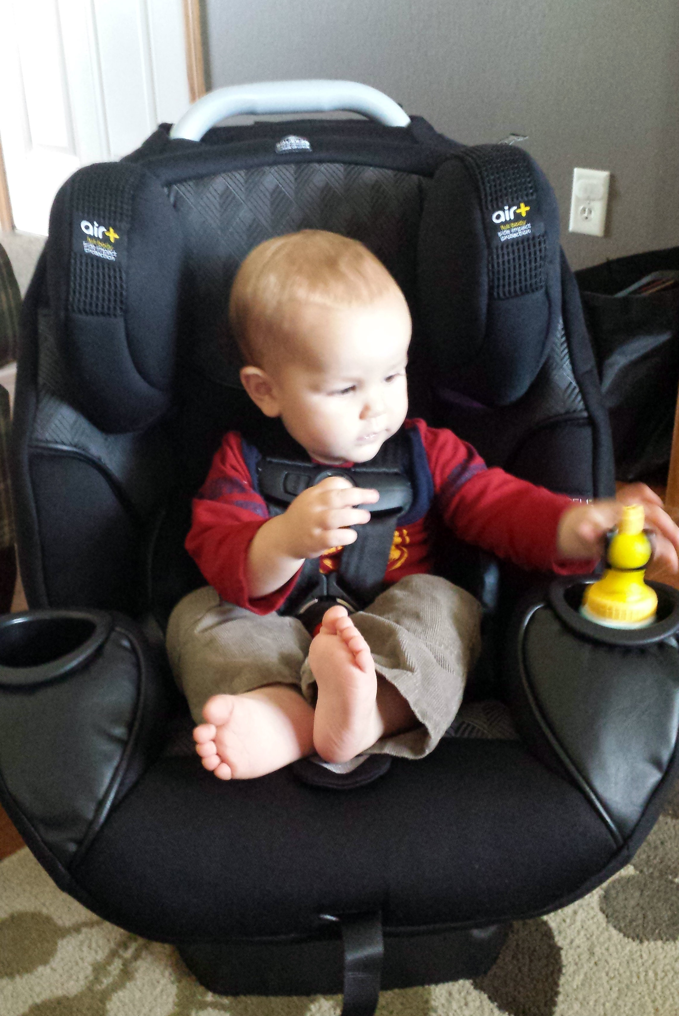 Safety 1st Elite 80 Air + 3-in-1 Car Seat Review - momma in flip flops