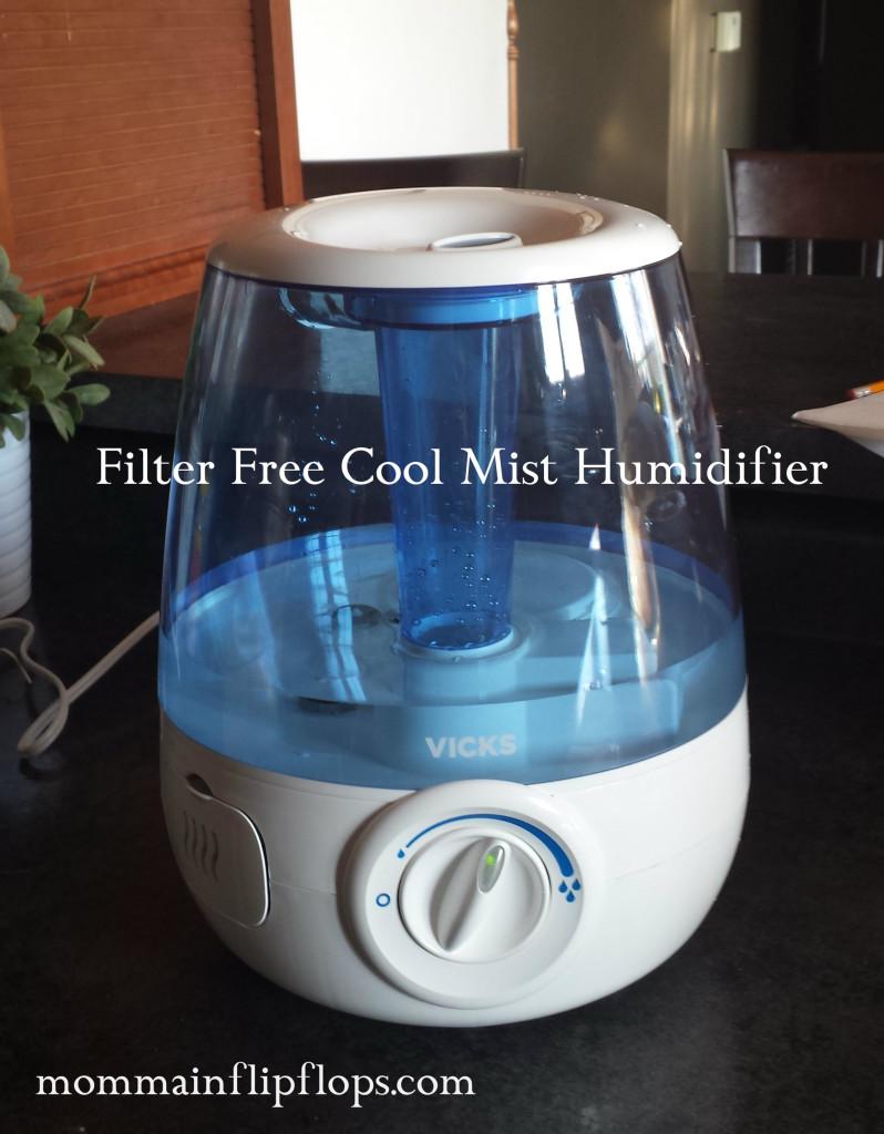 vicks filter free cool mist humidifier comfort contest momma in flip flops. Black Bedroom Furniture Sets. Home Design Ideas