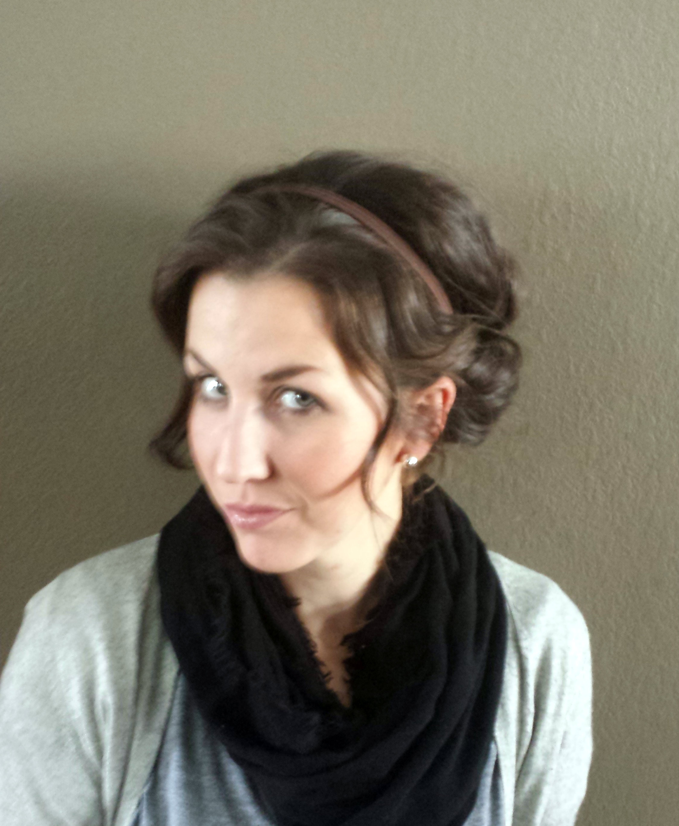 Quick and Easy Hair Style for the Busy Mom - momma in flip flops