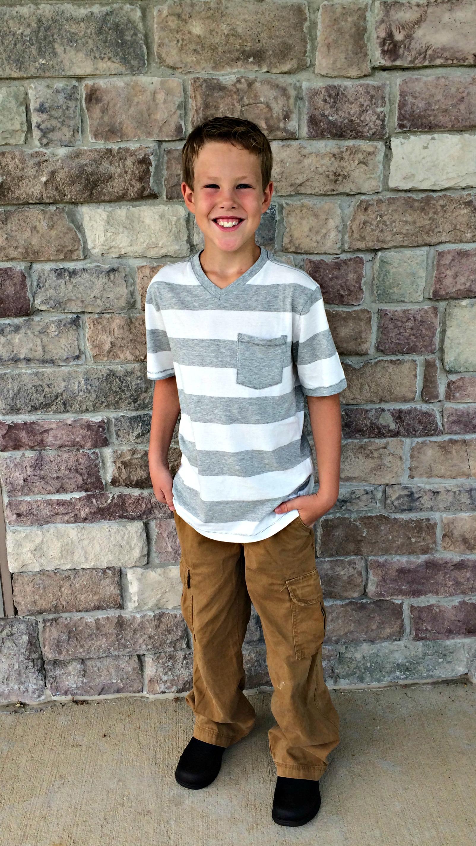 Grey Florsheim Boys Flites Wing Junior Oxford Little Kid