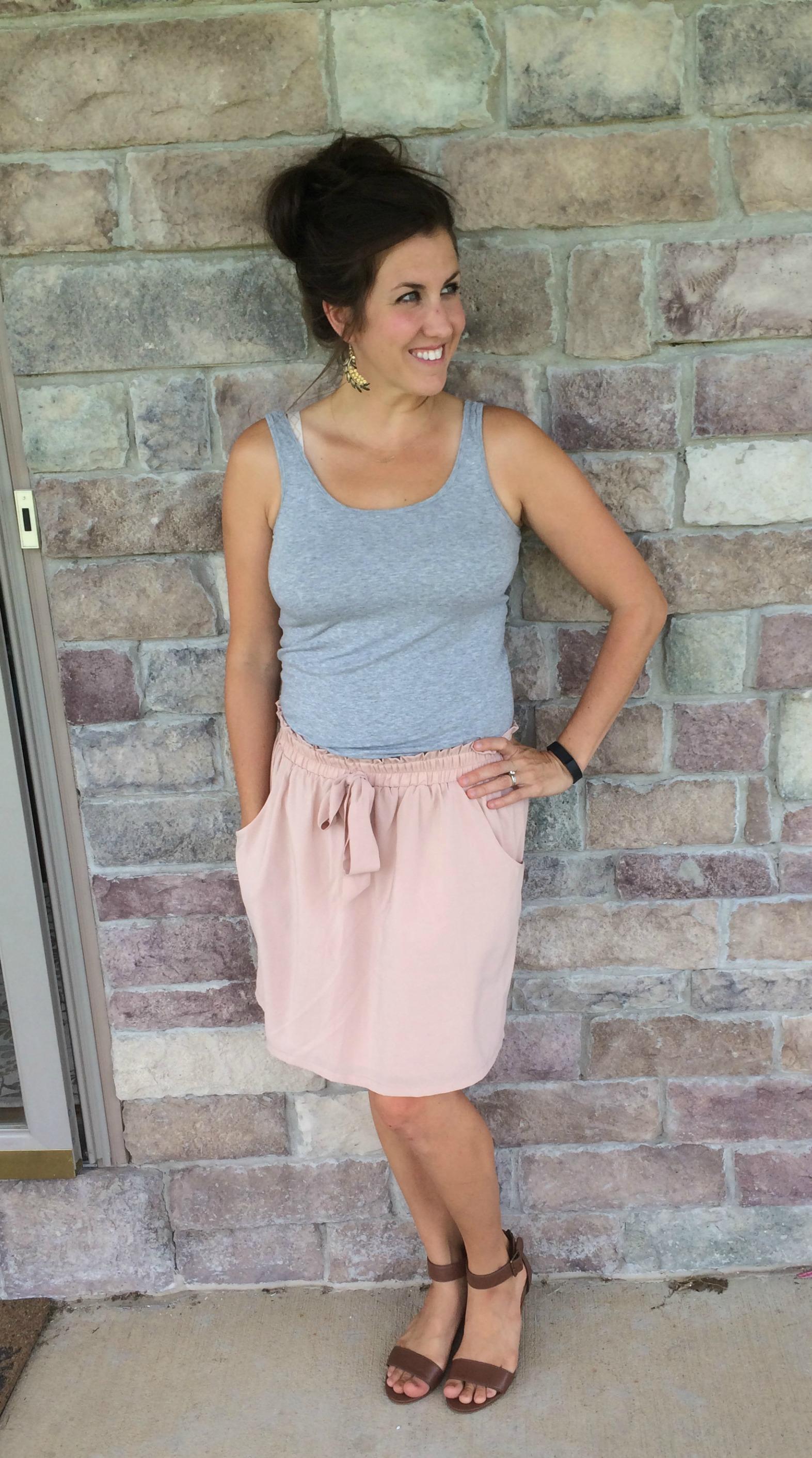 Hot Moms In Skirt