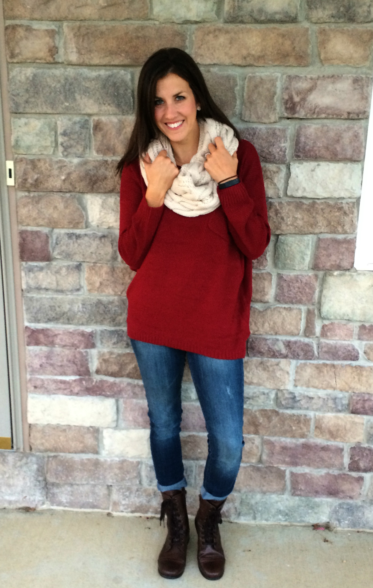 What I Wore: How to wear Oversized Sweaters #RealMomStyle - momma ...