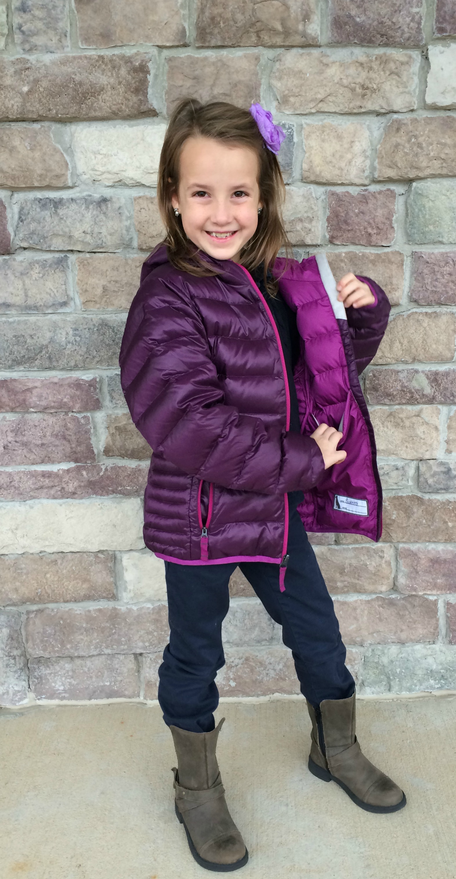 What They Wore: Eddie Bauer Winter Coats #KidsFashion - momma in ...