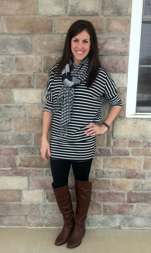 real mom style Conversatin Pieces Stripes