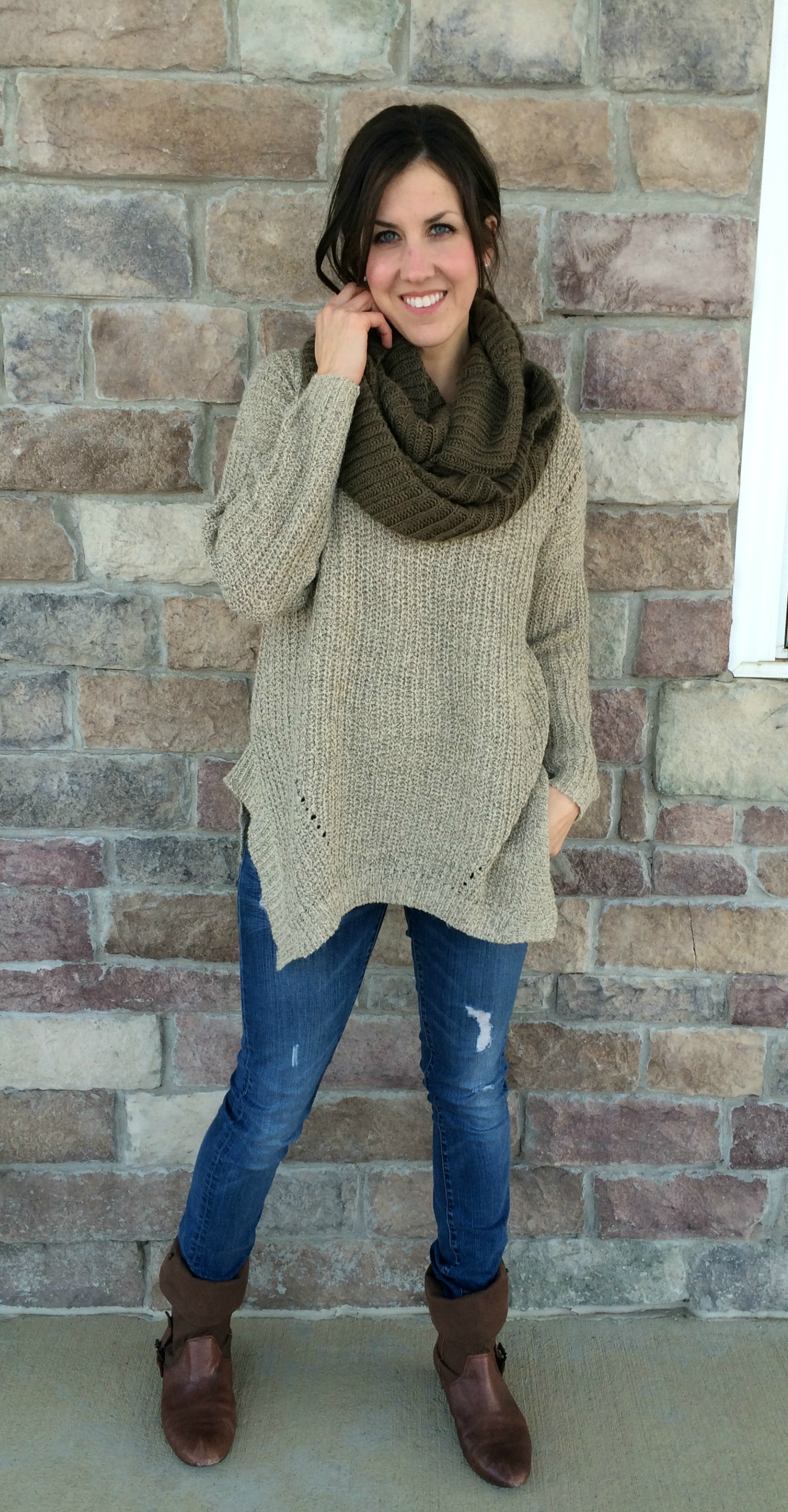 How To Wear A Slouchy Sweater 1 Piece Styled 3 Ways