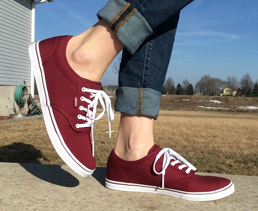 One great shoe to to get your hands on are Vans – particularly the ones I'm sharing here the ATWOOD LOW VANS, available in a slew of colors from Rack Room