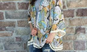 Mint Julep Kimono