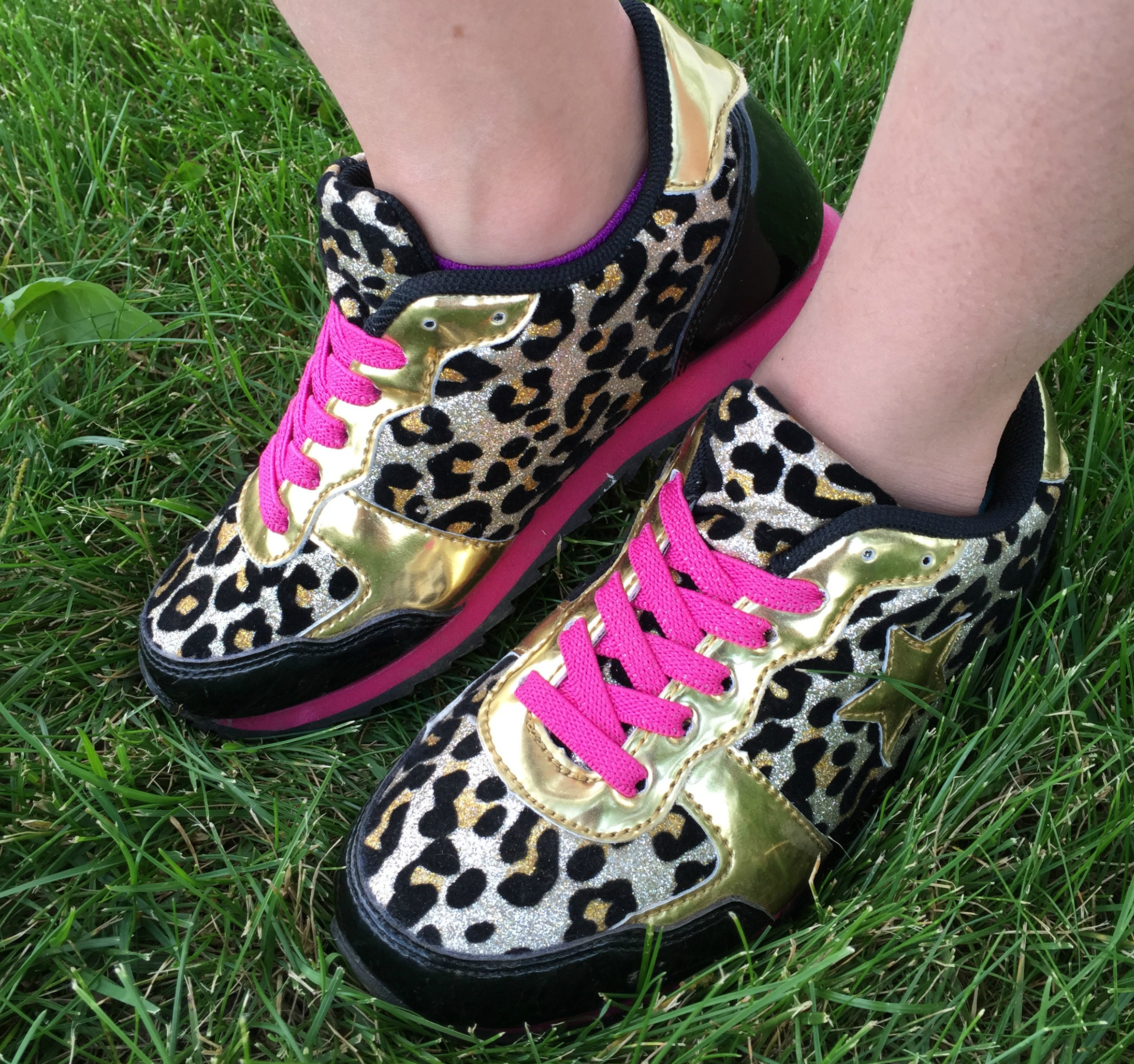 981f3f72665 Speaking of shoes – this girl loves them and you can tell she s an animal  print lover! These Fab Star Trainer shoes had her at hello – great for the  active ...