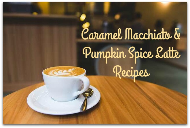 caramel macchiato & pumpkin spice recipe