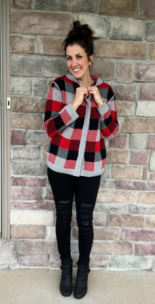 Shopping Outfit Plaid