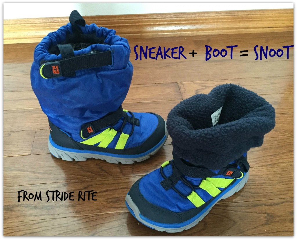 The New Sneaker Boot from Stride Rite