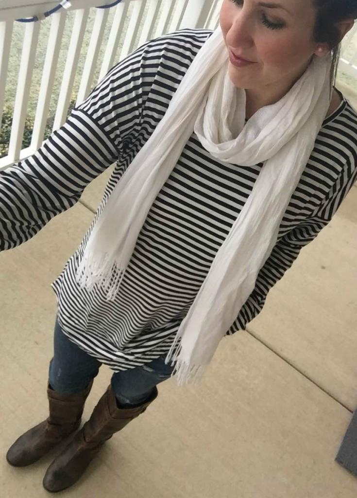 cabi selfie stripes
