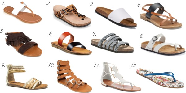fd40cd454ba9ba 20 Sandals from Kohl s for Spring - momma in flip flops