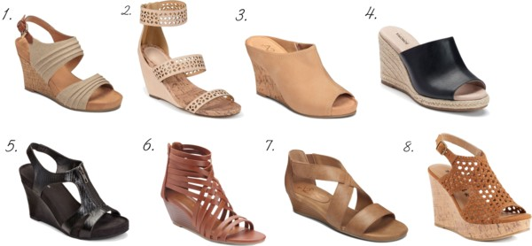 64f32a68c203 Wedge Sandals from Kohl s for Spring – which one of the following could you  see yourself wearing