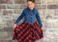 Lularoe red dress with jacket