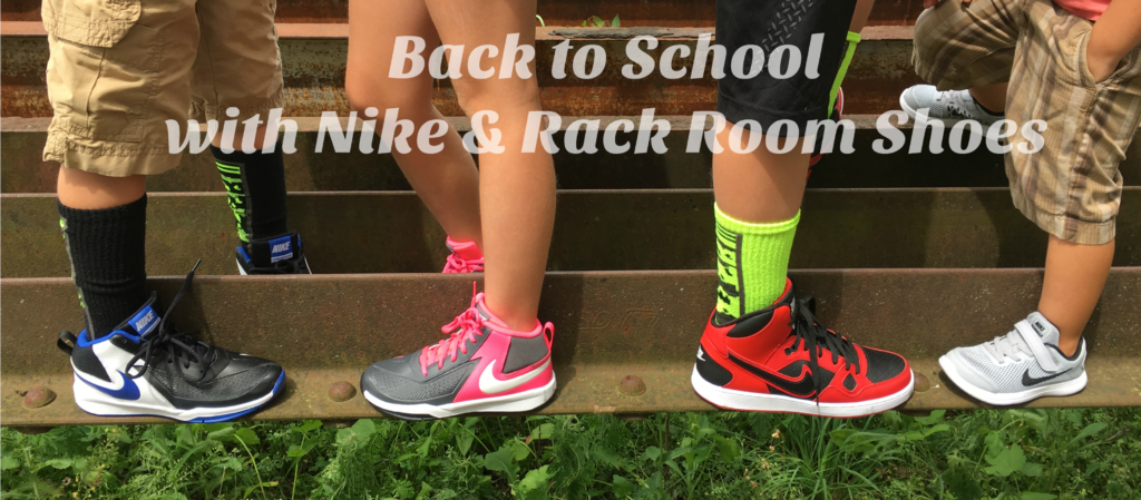 penitencia Incompatible Mencionar  Back to School Nike Sneakers Sale at Rack Room Shoes - momma in flip flops