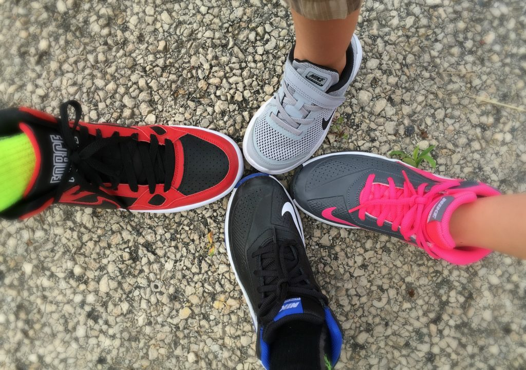 Back to School Nike Shoes Boy Girls
