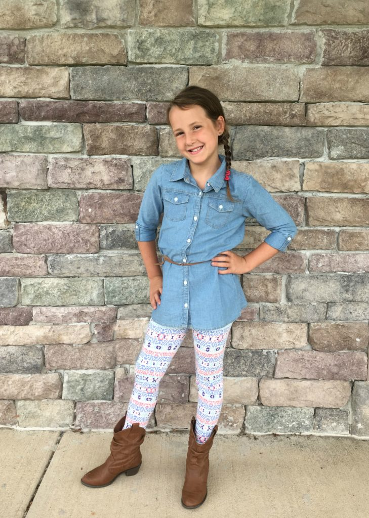 Kohls Back to School Carters Outfit Girl