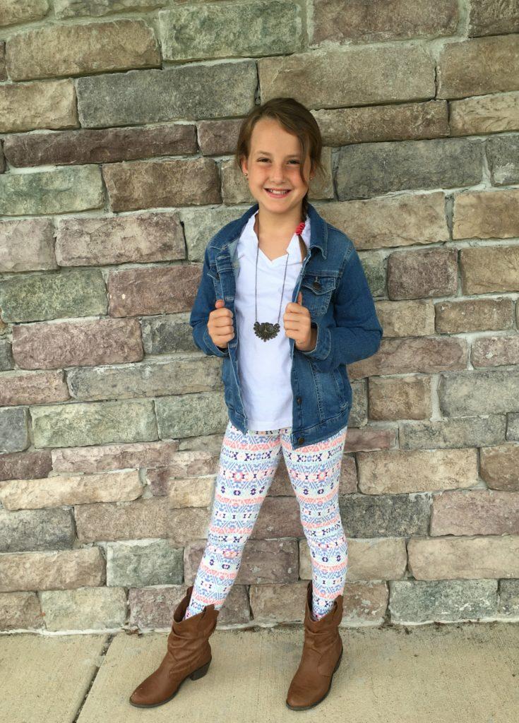 Kohls Back to School Girls Denim Jacket