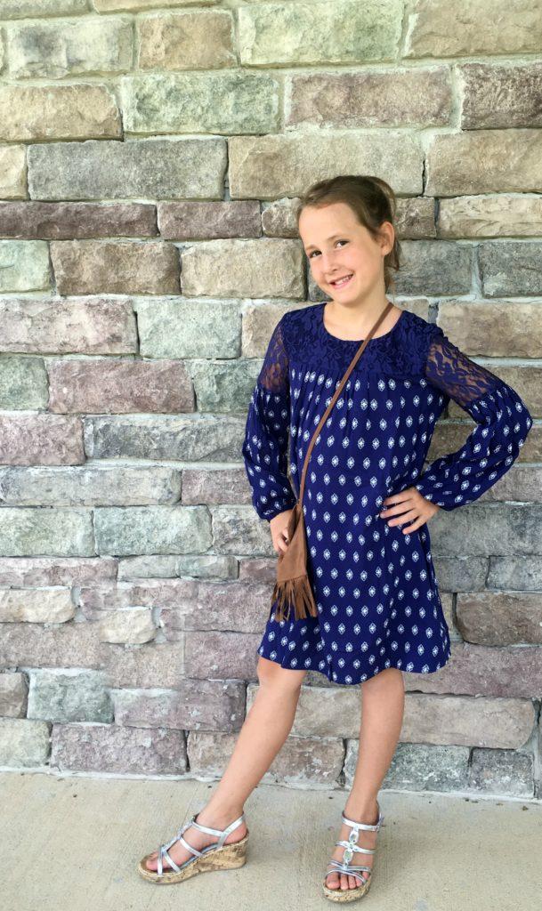 JcPenney Arizona Dress and Purse