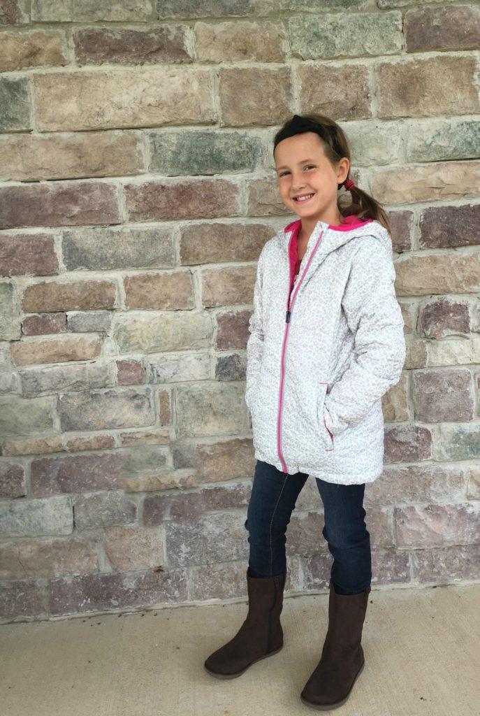 Lands End back to school jacket