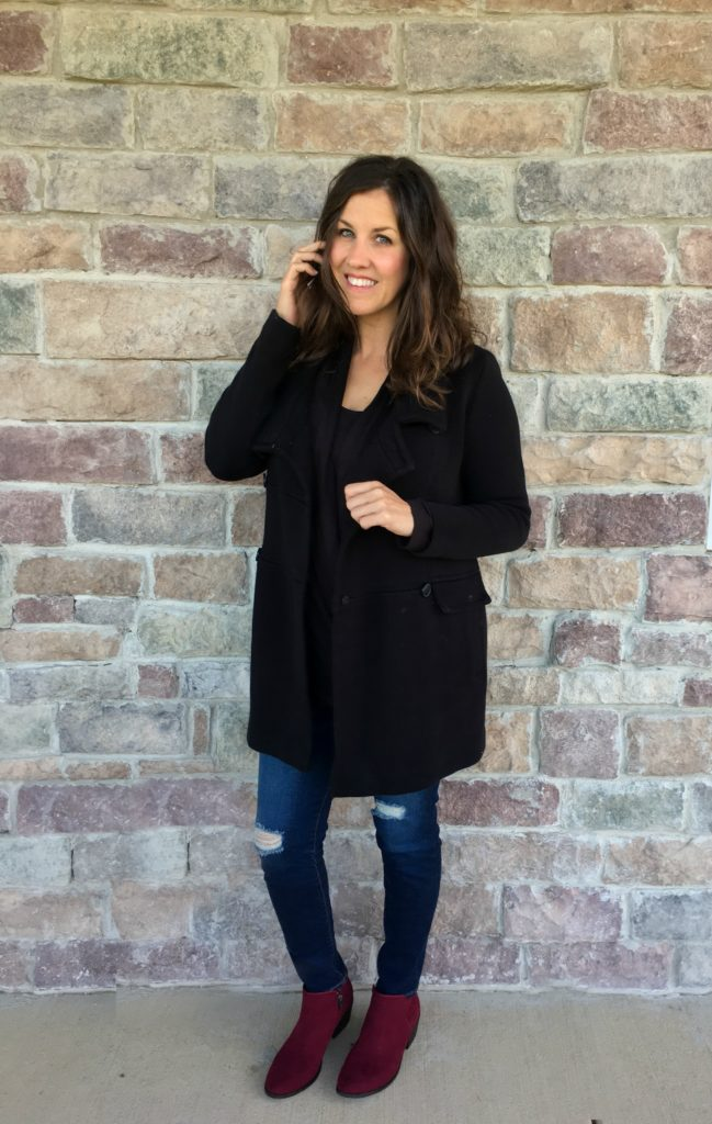 wine-booties-black-coat-outfit