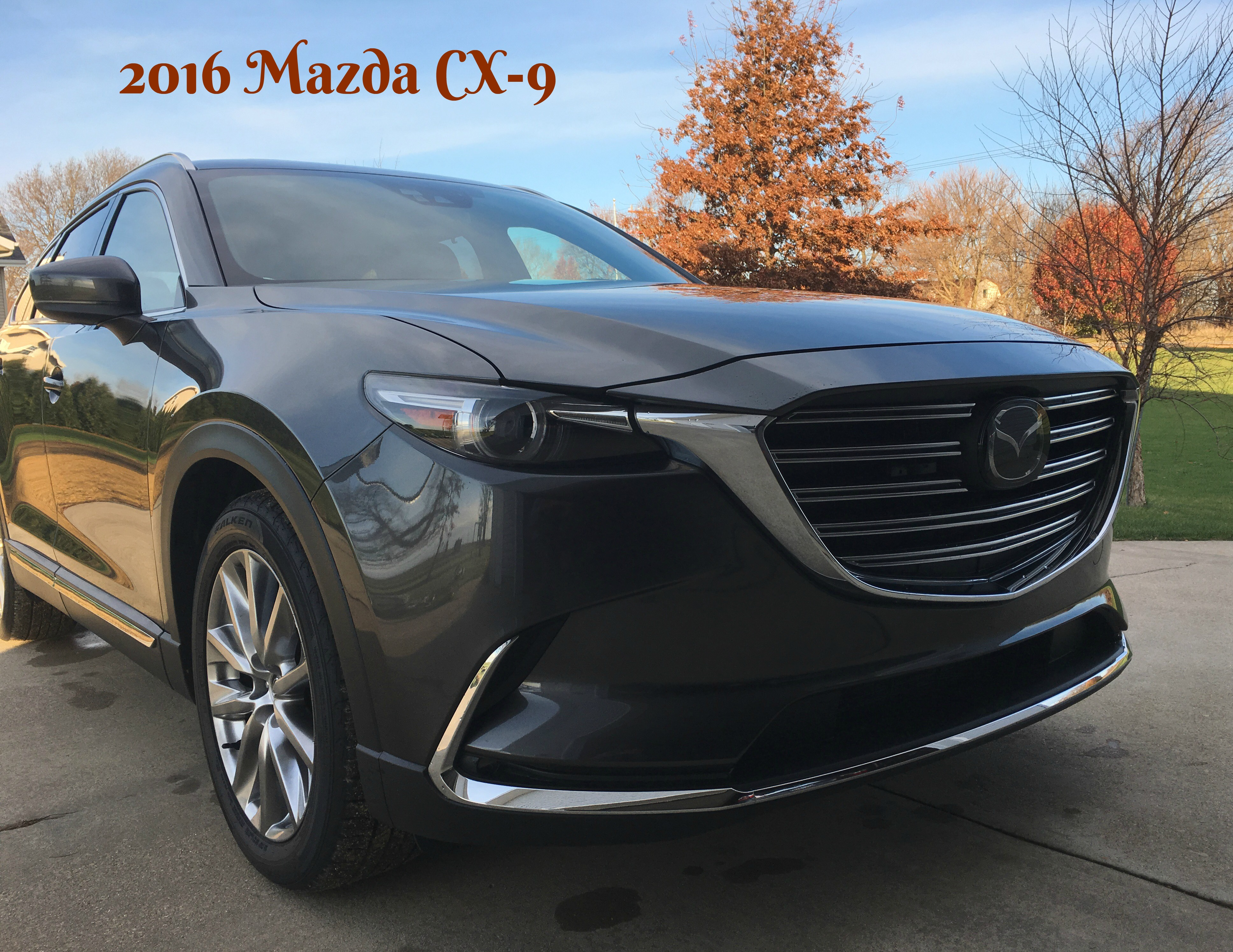 take a look at the 2016 mazda cx 9 signature all wheel drive momma in flip flops. Black Bedroom Furniture Sets. Home Design Ideas