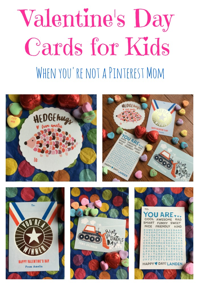 Valentines Cards For Kids Pinterest | www.imgkid.com - The ...