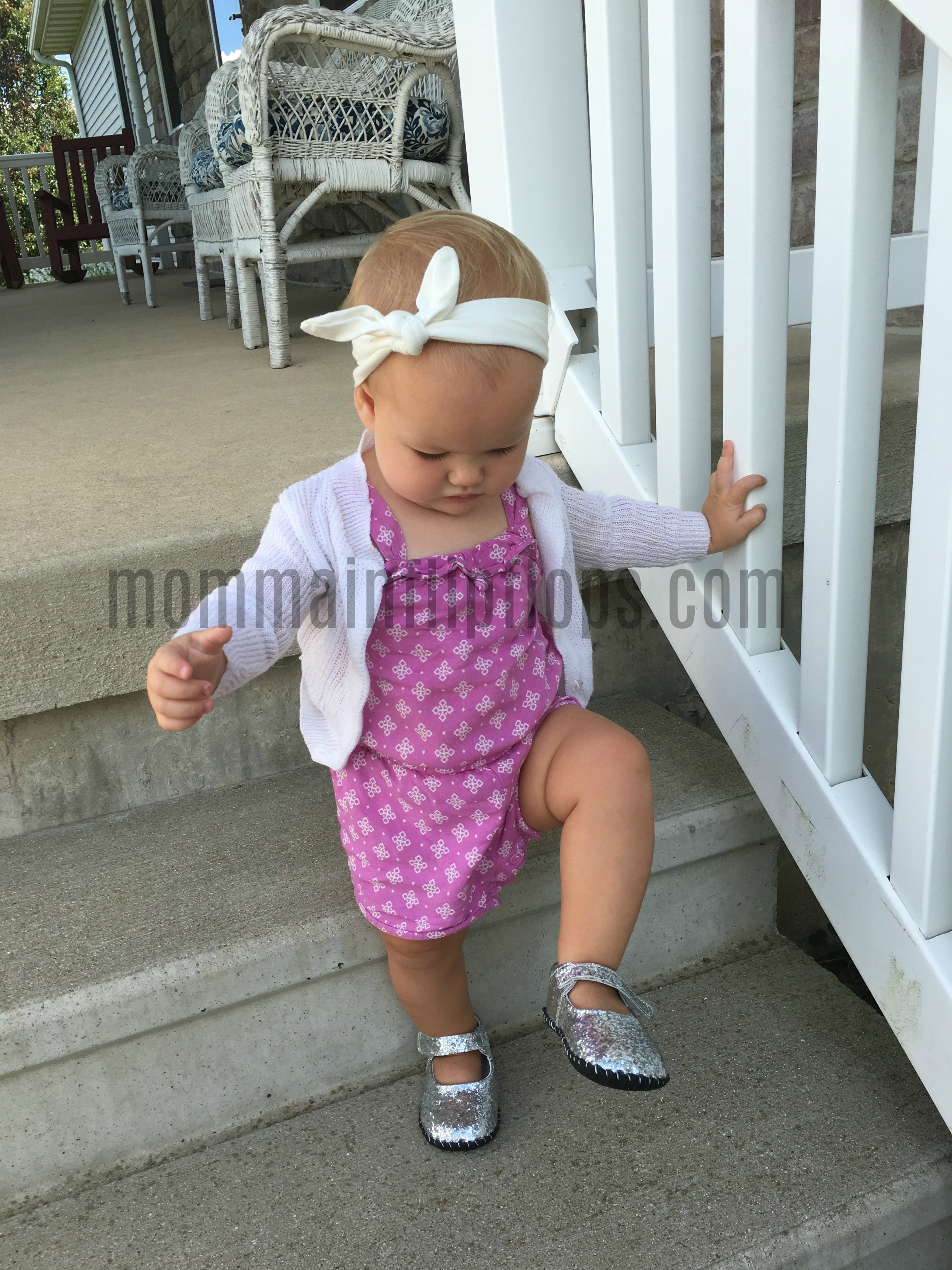 Sparkling Little Girls Shoes from Pediped Footwear momma in flip flops